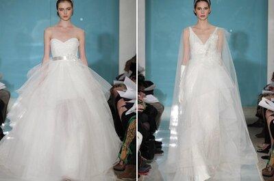 Descubre los vestidos de novia de Reem Acra 2013