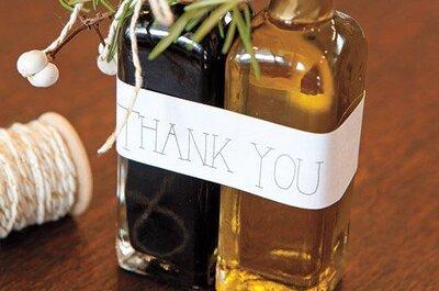 Vino, mermelada, galletas y miel: La nueva tendencia en recuerdos para invitados de boda