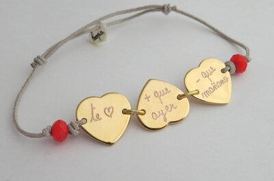 Personaliza una joya como detalle para los invitados a tu boda