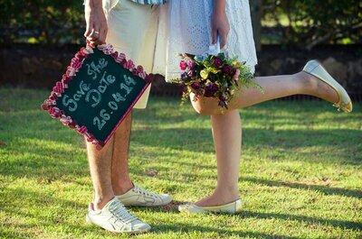 Save the Date com fotos divertidas: ninguém vai esquecer a data do seu casamento!