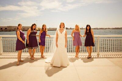 Robes de mariée coupe sirène immortalisées