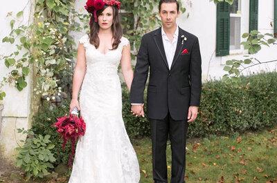 Casamentos no Halloween: ideias divertidas e assustadoras!