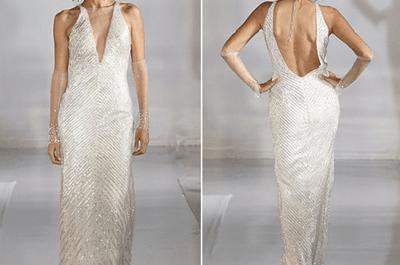 Ecco la top 15 degli abiti da sposa più sensuali con la schiena nuda!