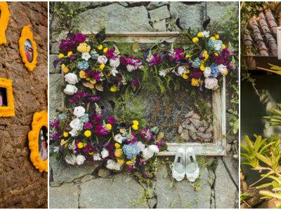 Como decorar seu casamento com molduras: um toque vintage e mega romântico!