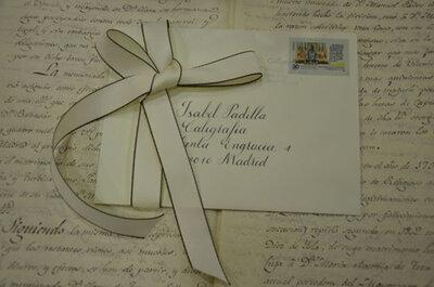 Personaliza la Caligrafía de tus invitaciones, meseros y libro de firmas de tu boda