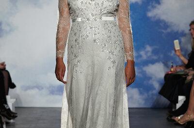 Luce moderna y única con los vestidos de novia primavera 2015 de Jenny Packham