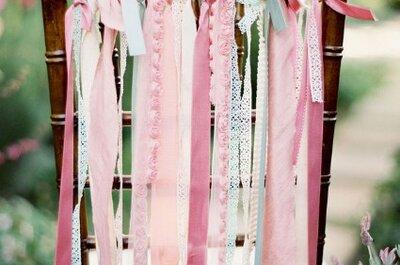 Desfile de estilos en las sillas de tu casamiento