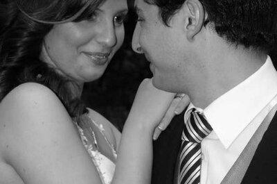 Un encantador matrimonio con aires campestres
