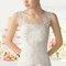 Hochzeits-Kleid: Brautkleid mit Schleife und funkelnden Trägern