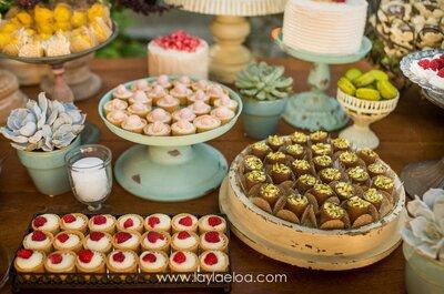 Doces de casamento que decoram: lindos e saborosos!