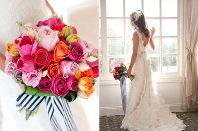 Una boda a rayas: Las mejores ideas para integrar este clásico patrón