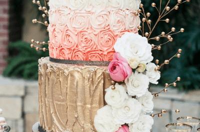 #MartesDeBodas: Todo sobre las tendencias para pasteles de boda 2014