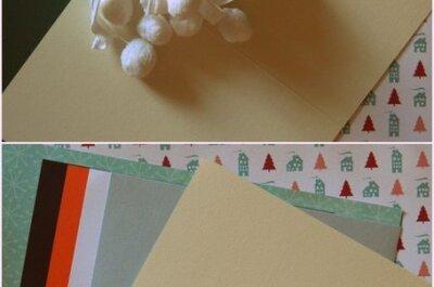 Świąteczne kartki z życzeniami - DIY