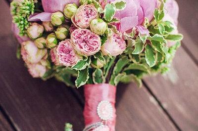 Ramos de noiva primavera 2015: dê cor ao seu casamento