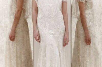 Coleção de vestidos de noiva Jenny Packham Primavera 2013
