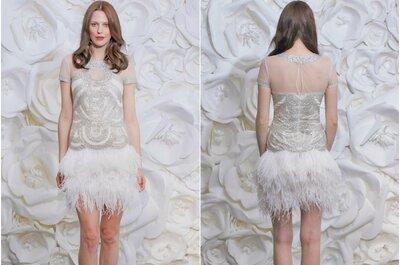 O novo chique: vestidos de noiva Naeem Khan para 2015