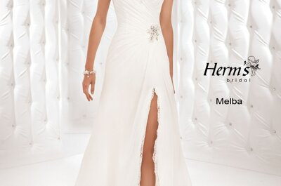 Najnowsza kolekcja sukien ślubnych Herm's na 2014 rok