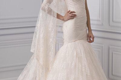 Vestidos de novia a color una tendencia de moda en el 2013