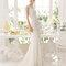 Hochzeits-Kleid: Brautkleid mit geradem Ausschnitt