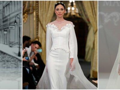 Vestidos de novia vintage 2017: Diseños que son magia pura