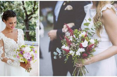 Cómo elegir tu ramo de novia: mini-guía para acertar