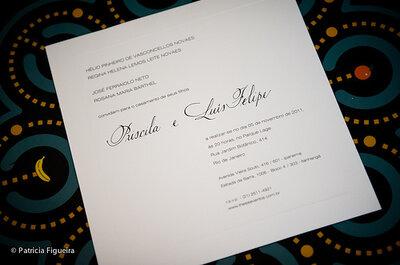 Como fazer seu convite de casamento em dois idiomas