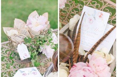5 dettagli che non possono mancare nel corredo cartaceo del tuo matrimonio