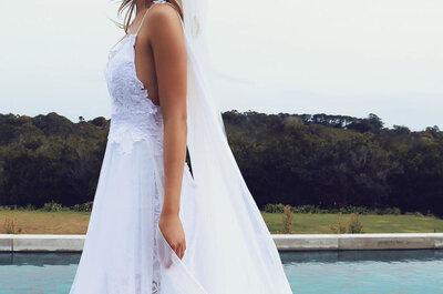 Das ist das beliebteste Brautkleid auf Pinterest! Kaum eine Braut, die dazu NEIN sagen würde