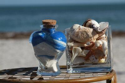 Ceremonia de la arena, de las velas, del vino...¿cuál debería agregar a mi matrimonio?