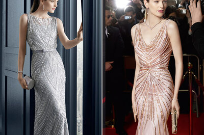 Robes de soirée Rosa Clará à des prix inédits au Printemps Haussmann