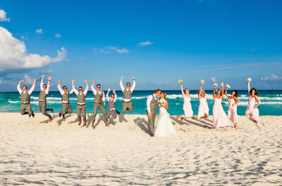 Incredible ocean views for your wedding at the Grand Park Royal Cancun