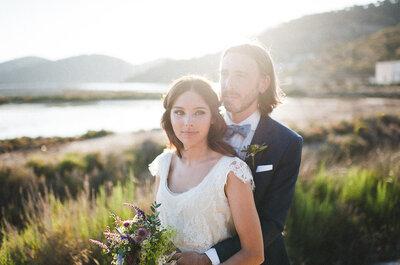 Welcome to Ibiza: una mezcla de culturas perfecta en la boda de Elisa y Miguel