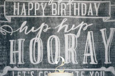 Pizarrones para decorar tu boda: La apuesta más original para darle estilo a esa fecha especial