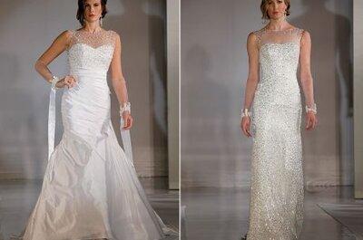 Vestidos de noiva de Ines di Santo, coleção 2012