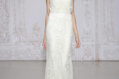 El vestido de novia perfecto para la novia chaparrita