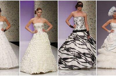 A me gli occhi! 5 stilisti italiani per stupire con un abito da sposa eccentrico