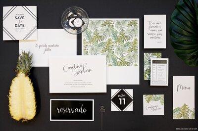Convites de casamento em São Paulo: 12 fornecedores SUPER recomendados!