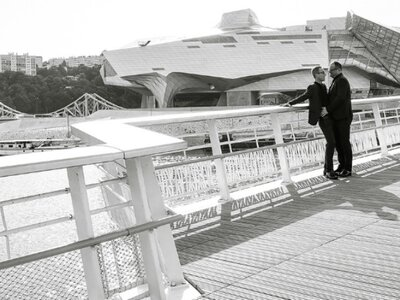 Philippe & Stéphane : un joli mariage urbain au coeur de Lyon