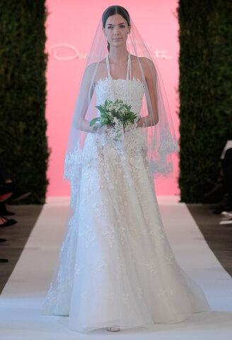 Tulle bridal gowns en-trend for Spring/Summer 2015