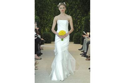 Belos e autênticos vestidos de noiva Carolina Herrera - Coleção Primavera 2014