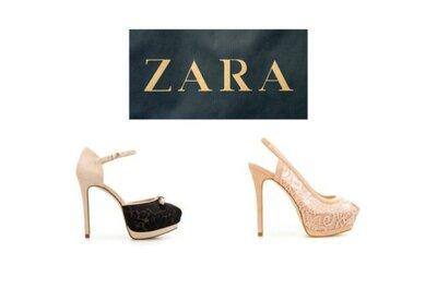 Scarpe by Zara. I 10 modelli migliori per le invitate secondo Zankyou!