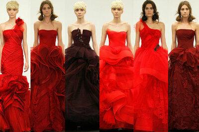 Detalhes na cor vermelha para seu casamento