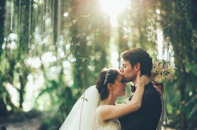 O beijo de noivos mais romântico de 2014!