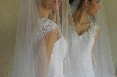 5 véus para 5 estilos de noiva: qual combina com você?