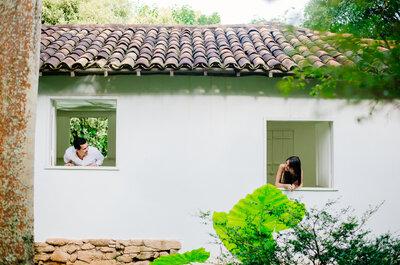 Natália e Matheus: Noivado em Inhotim - Museu de Arte Contemporânea mais incrível do Brasil!
