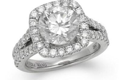 7 anillos de compromiso de la nueva colección Vera Wang LOVE