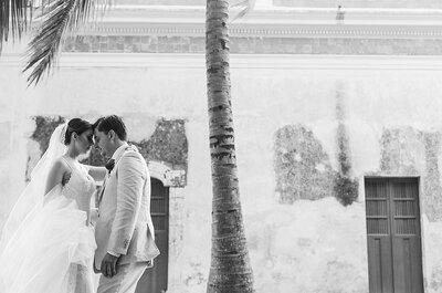 Por siempre serás quien haga latir mi corazón: La boda de Paulina y Armando