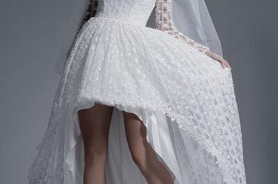 Vestidos de noiva para mulheres românticas e atuais: princesas modernas!