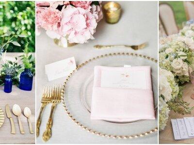 Wybierz zastawy na swój ślub: ponieważ drobne szczegóły robią różnicę!