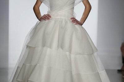 Suknie ślubne 2014: klasyka w kolekcji Amsale
